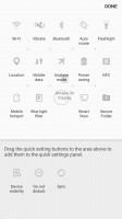 Editing toggles - Samsung Galaxy A5 (2017) review