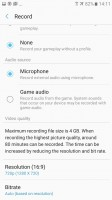 Camera and mic settings - Samsung Galaxy A5 (2017) review
