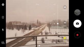 Camera interface - Samsung Galaxy A5 (2017) review