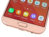 Home button with fingerprint sensor - Samsung Galaxy A7 (2017) review