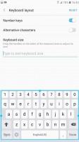 Samsung keyboard - Samsung Galaxy A7 (2017) review
