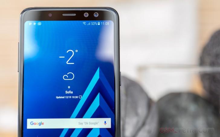 Samsung Galaxy A8 (2018) hands-on review: Samsung Galaxy A8 (2018