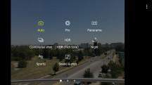 Camera interface - Samsung Galaxy J5 (2017) review