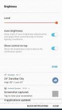 Notification shade - Samsung Galaxy J5 (2017) review