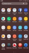 App drawer - Samsung Galaxy J7 Pro review