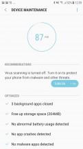 Device Maintenance - Samsung Galaxy J7 Pro review