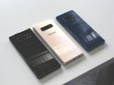 The Galaxy Note8 will be available in Midnight Black, Maple Gold and Deepsea Blue - Samsung Galaxy Note8 hands-on review