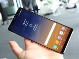 Now narrower, the Galaxy Note8 is really top notch to handle - Samsung Galaxy Note8 hands-on review