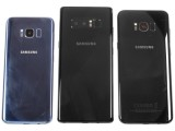 Samsung Galaxy Note8 next to the S8 and S8+ - Samsung Galaxy Note8 review