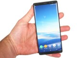 Galaxy Note8 in the hand - Samsung Galaxy Note8 review