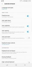 Keyboard - Samsung Galaxy Note8 review