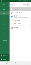 Microsoft app package - Samsung Galaxy Note8 review