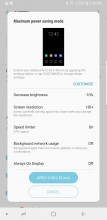Maximum power saving - Samsung Galaxy Note8 review