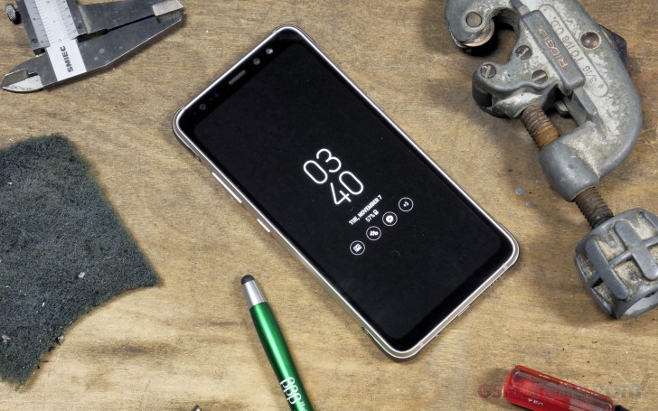 Samsung Galaxy S8 Active review: User Interface