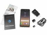 Contents of the box - Samsung Galaxy S8 Active review