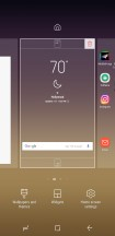 Launcher options - Samsung Galaxy S8 Active review