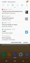 Notification shade - Samsung Galaxy S8 Active review