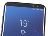 Lots of sensors on the front - Samsung Galaxy S8+review