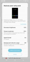 Maximum power saving - Samsung Galaxy S8+review