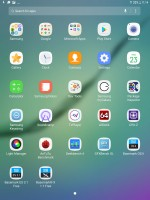 App drawer - Samsung Galaxy Tab S3 9.7