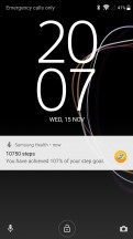 Daily activity updates - Samsung Gear Sport review