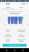 Samsung sleep summary - Samsung Gear Sport review