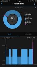 Garmin sleep summary - Samsung Gear Sport review