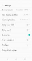 Camera app - Sharp Aquos S2 review