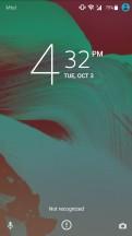 Lockscreen - Sony Xperia XA1 Plus review