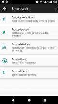 Smart lock - Sony Xperia XA1 Plus review
