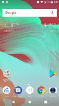 Homescreen - Sony Xperia XA1 Plus review