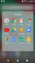 Folder view - Sony Xperia XA1 Plus review