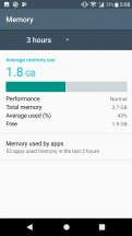 Smart cleaner frees up memory of both kinds - Sony Xperia XA1 Plus review