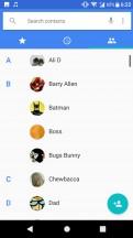Phonebook - Sony Xperia XA1 Plus review