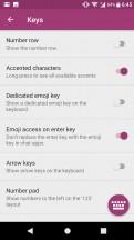 Swiftkey keyboard is the default text input method - Sony Xperia XA1 Plus review