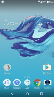Homescreen - Sony Xperia XA1 review