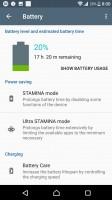 Stamina mode - Sony Xperia XZ Premium review