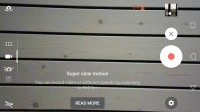 Slow-motion video mode - Sony Xperia XZ Premium review