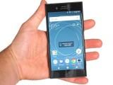 Sony Xperia XZ1 in the hand - Sony Xperia XZ1 review