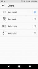 Lockscreen and unlock options - Sony Xperia XZ1 review