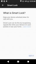 Smart Lock - Sony Xperia XZ1 review