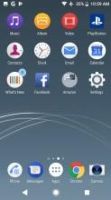 Homescreen - Sony Xperia XZ1 review