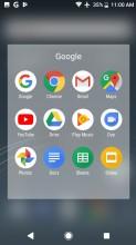 Folder view - Sony Xperia XZ1 review