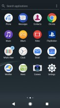App drawer - Sony Xperia XZ1 review