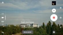 Camera UI - Sony Xperia XZ1 review