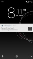 Lockscreen - Sony Xperia XZs review