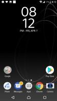 Homescreen - Sony Xperia XZs review