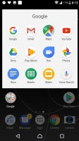 App search and suggestions - Sony Xperia XZs review