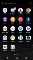 App drawer - Sony Xperia XZs review