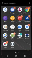 App management - Sony Xperia XZs review